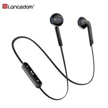 Langsdom BL6 Wireless Headphone Bluetooth Earphones Sport auriculares Bluetooth Headset for Phone Half In-Ear Bluetooth Earpiece(China)
