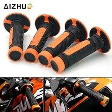 Hand Grips 2 pair 22mm 7/8 HandleBar Pro Motocross Motorcycle For  200XC-W 250SX-F EXC 250 250XC-W/XCF-W/SX 300EXC 350SX-F