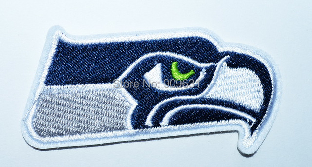 Us 150 0 Seattle Seahawks New Style Iron On Patch Embroidered Team Logo In Patches From Home Garden On Aliexpress Com Alibaba Group