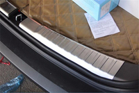 Yimaautotrims Rear Trunk Scuff Plate Door Sill Cover Trim 2 Pcs Fit For Honda CRV CR V 2012 2013 2014 Stainless Steel