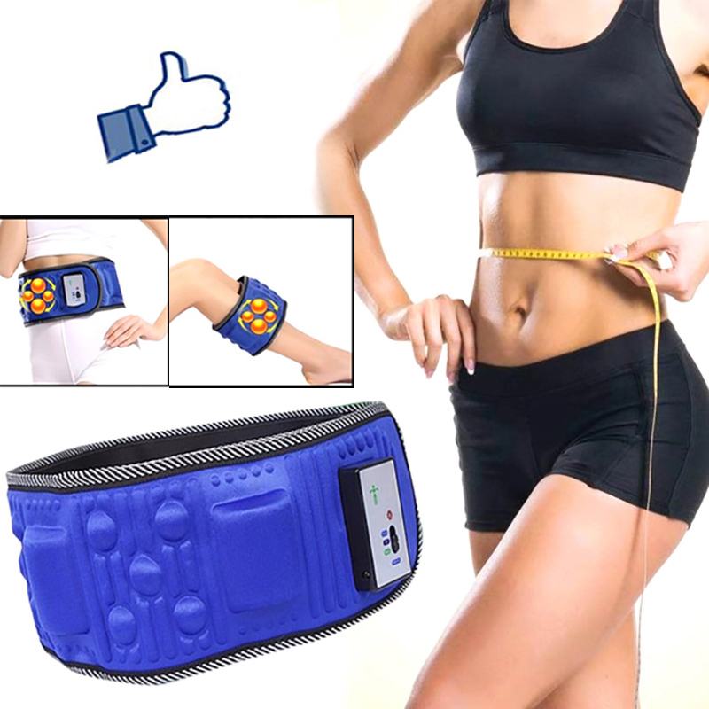 Vibration Fitness Massager Electric Slimming Belt Lose Weight Fitness X5 Times Sway Vibration Abdominal Muscle Waist Trainer