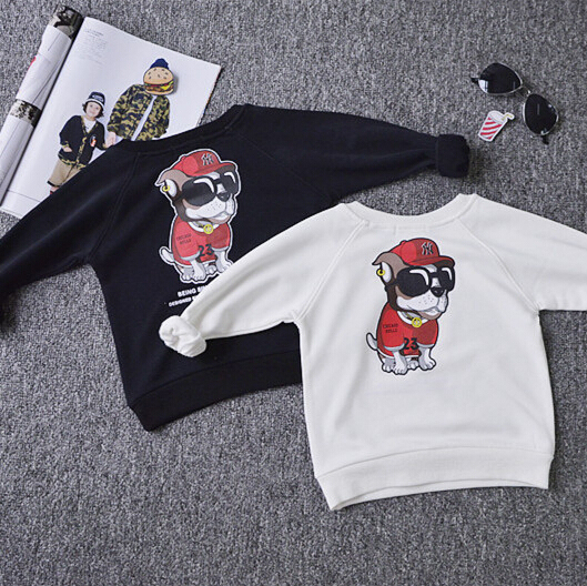 Family Matching Cartoon Sweatshirt Family Style Set Warm Mother Daughter Father Son Clothes Family Clothing Parent-Child Set PT7