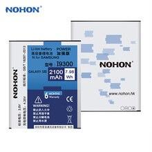 NOHON Pin Dành Cho Samsung Galaxy Samsung Galaxy S3 Batarya i9300 i9305 i879 i535 i747 i9128 Bateria EB L1G6LLU 2100 mAh Pin