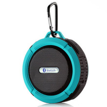 New C6 Bluetooth Speaker Portable Wireless Waterproof Shower Speakers Handsfree with Mic/Suction Cup Music Mini Boombox Soundbar