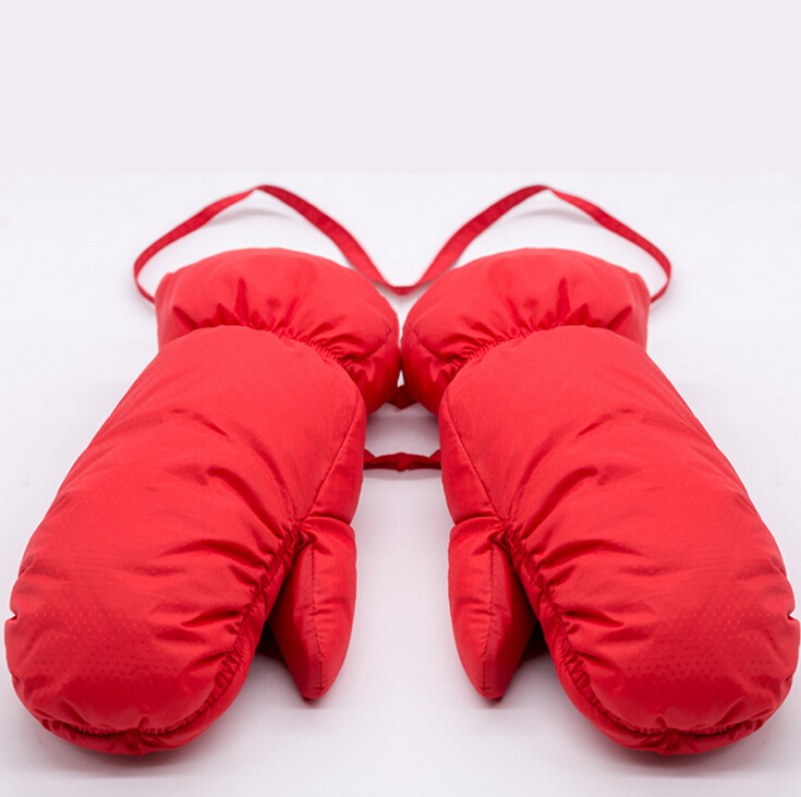 Brand New Winter Kids Warm Gloves 100% White Duck Down Padded - Киімге арналған аксессуарлар - фото 2
