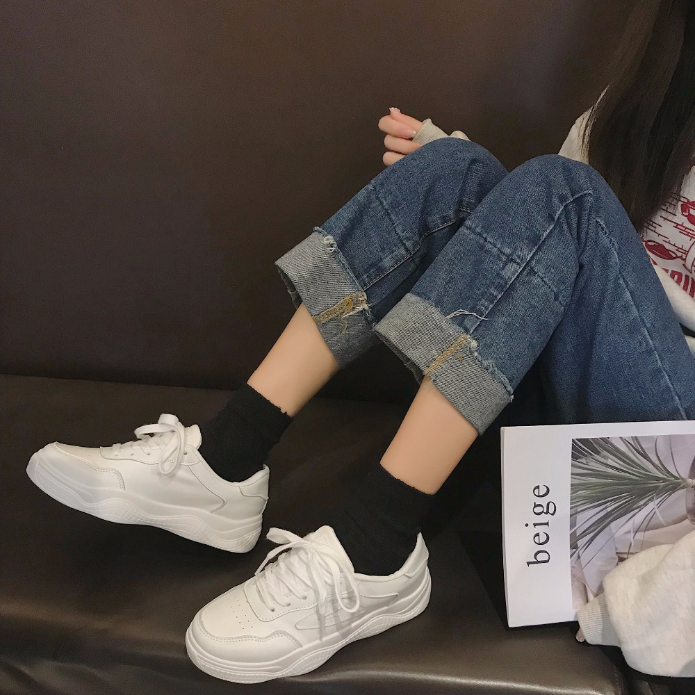 Wild Casual Modewei e Wei 2019 New Korean Spring Schuhe RjLq543A