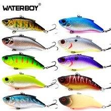 HAOS 7.5cm16.5g Fishing VIB Lipless Bait Great Wobbling Vibration New Noisy Rattle Plastic Sinking Vibrator Fish Lure