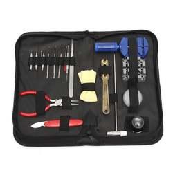 19 шт./компл. Смотреть Repair Tool Kit часы открывалка Ссылка Remover Весна бар набор инструментов с черным Водонепроницаемость сумка для хранения