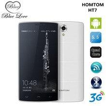 En stock HOMTOM MTK6580A HT7 Teléfono Móvil Android 5.1 1G RAM 8G ROM 5.5 pulgadas HD 1280×720 Dual SIM 3G WCDMA