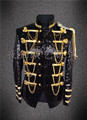 men jacket singer dancer wear Custom lounge male sequins stage blazer prom party outfit coat bar star concert costumes nightclub