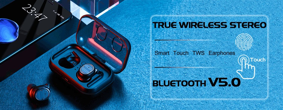 Touch Control Bluetooth earphone