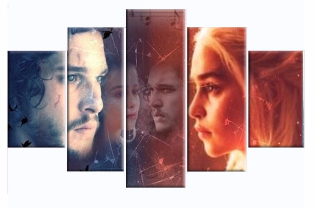5d diamond painting custom full square Game Of Thrones characters christmas embroidery diy cross stitch xmas