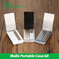 Original vapeonly malle pcc kit 2250 mah con 2 unidades de cigarrillos electrónicos 180 mah caso de carga portátil kit vaping simple kit