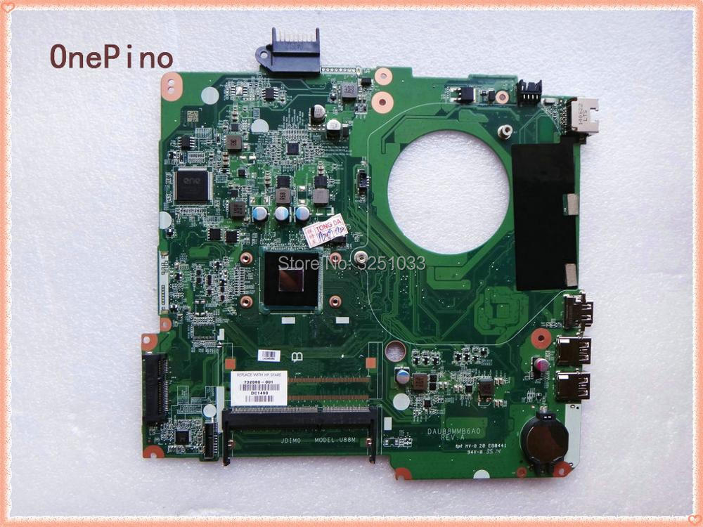 786899-501 732080-001 for HP 15-F Laptop Motherboard DAU88MMB6A0 FOR HP 15-F Laptop Motherboard N2840 DDR3 574680 001 1gb system board fit hp pavilion dv7 3089nr dv7 3000 series notebook pc motherboard 100% working