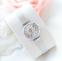 2017 New Elegant Women Watch Fashion Simple Dress Watch High Quality Lady Smart Rhinestone Wristwatch Female