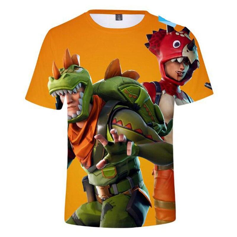 Cartoon 3D T Shirt Men T-Shirt Battle Royale Short Sleeve Tee Shirt Homme Hot Game Funny Tshirt Male Tops Anime clothes