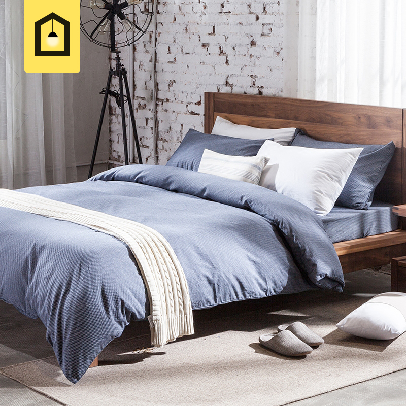Masculine Bed Linen Color Scheme For Simple Teen Boy: Aliexpress.com : Buy High Quality Brief Plaid Print Male