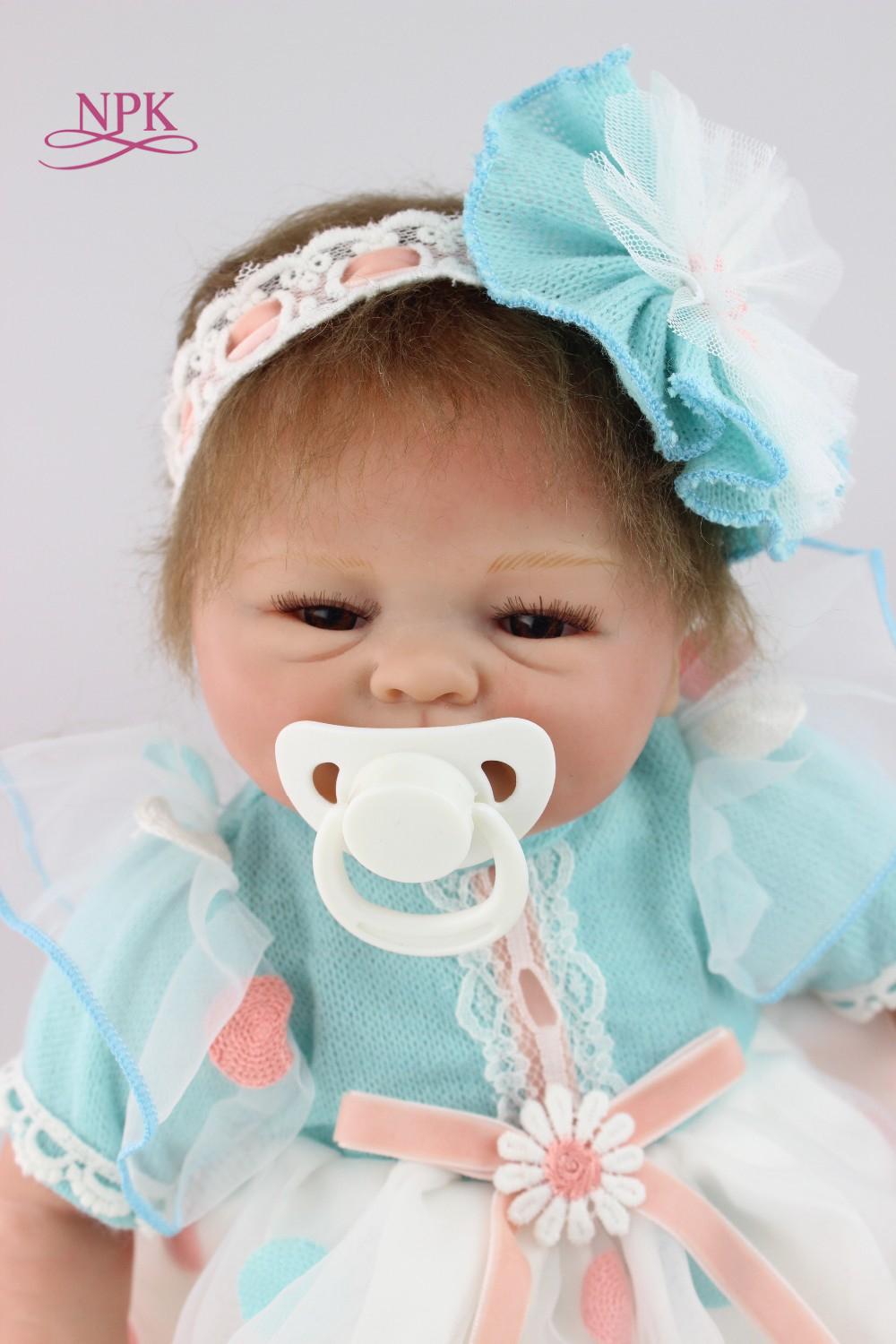 43cm Silicone Reborn Baby Doll Toys Lifelike Interactive Handmade Alive Baby Dolls Play House Girls Fashion Birthday Brinquedos43cm Silicone Reborn Baby Doll Toys Lifelike Interactive Handmade Alive Baby Dolls Play House Girls Fashion Birthday Brinquedos