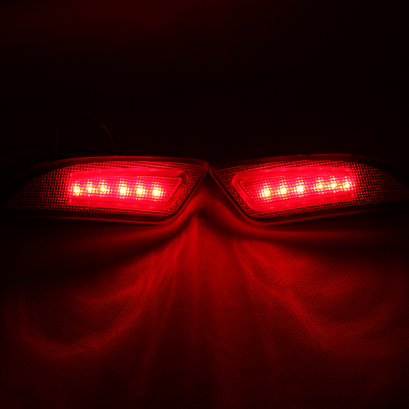 Us 35 9 Led Rear Bunper Warning Lights Car Brake Light Running Lamp Whole Surface Glowing For Toyota Camry 2015 2016 Black One Pair In Signal Lamp