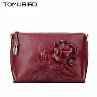 2017 New Ethnic wind leather hand bag Banquet evening bag embossed shoulder bag women Messenger Female hand bag women's handbags