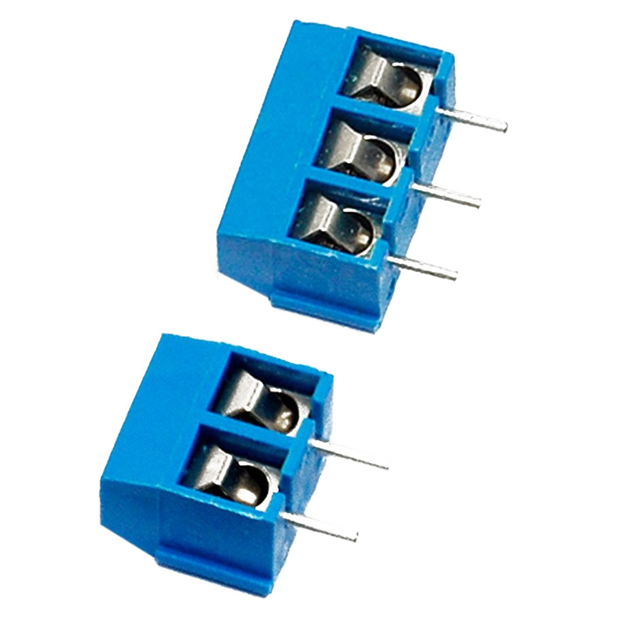 THGS 2 Pin and 3 Pin Screw Terminal Block Connector 5mm Pitch for Arduino (Pack of 40pcs) EK8365