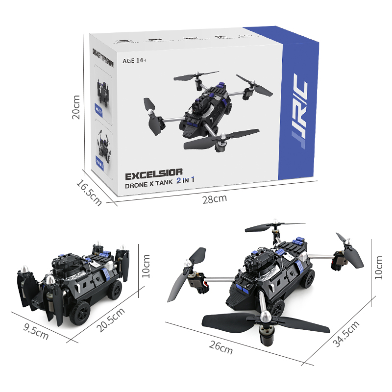 JJRC H40WH WIFI FPV 2MP 720P Camera 2.4G 4CH Altitude Hold RC Tank Quadcopter