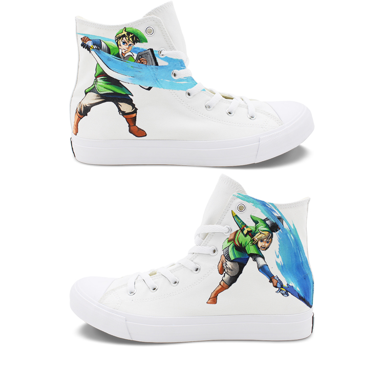 Owaheson Boys Girls Casual Lace-up Sneakers Running Shoes Ugly Christmas Reindeer Snowflake