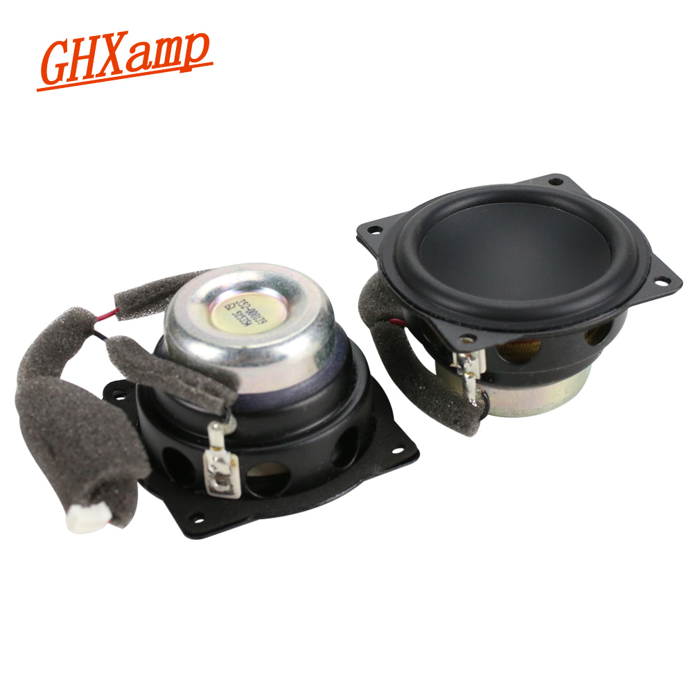 2Inch 58MM 4OHM All frequency Speaker Aluminum Pot Bass Home