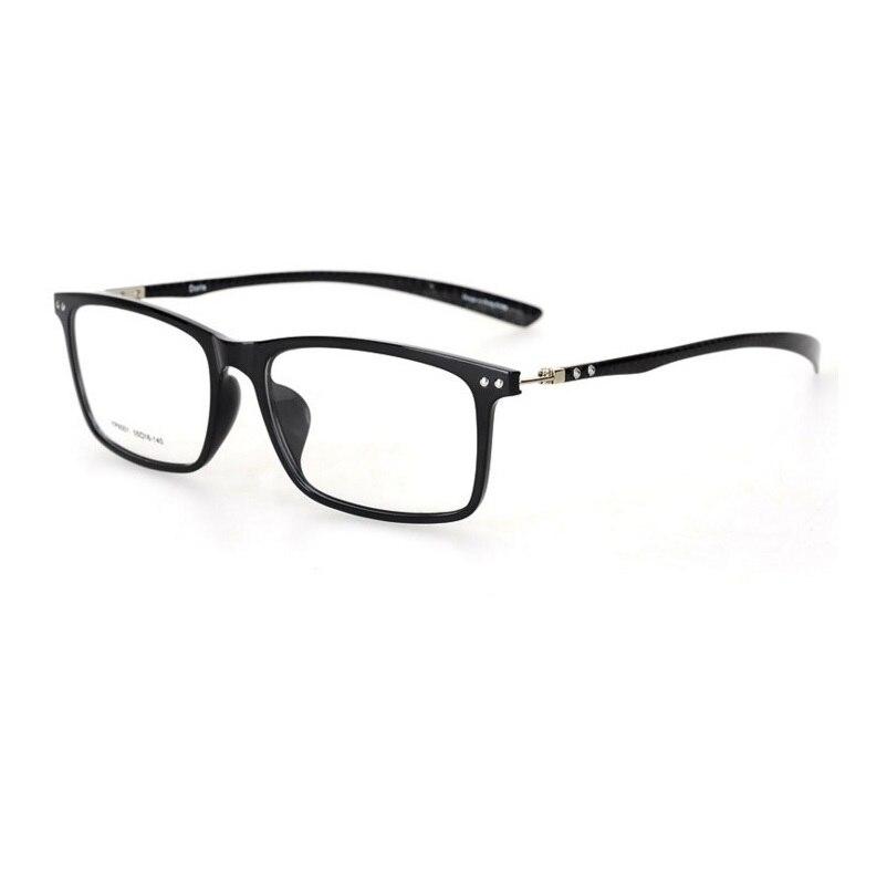 55-16-140 High end business trend ultra thin eyeglass frame TR90 full frame carbon fiber mirror legs male female general myopia