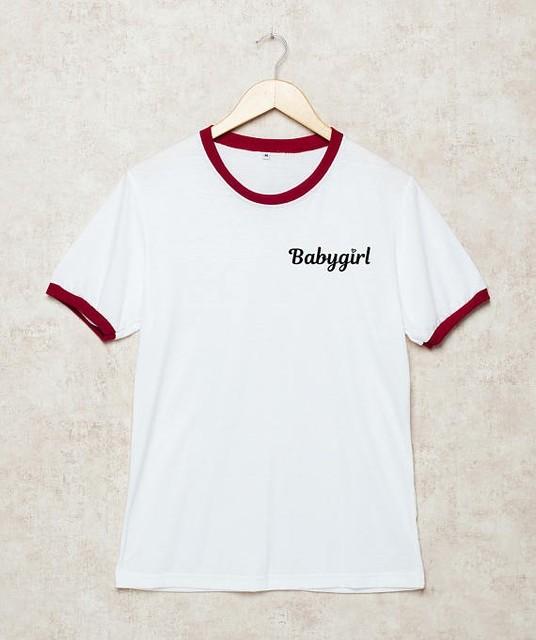 d07184c6d Babygirl Tumblr Da Campainha T Tumblr T Shirt Engraçado bonito meninas da  forma top t camisa