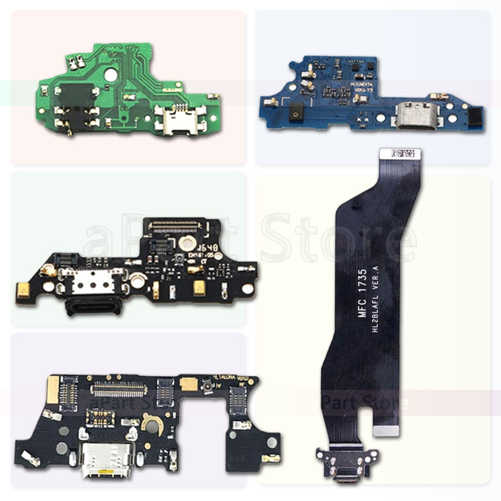 USB Charging Port Charger Dock Connector Flex Cable For Huawei Mate 7 8 9 10 20 Lite Pro Plus Original
