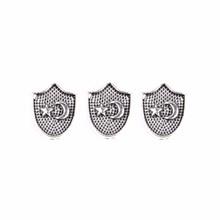 Fashion silver color Alloy Beads Islam Jewelry Finding Arabic Tesbih Prayer Beads Rosary Allah Muslim Tasbih Accessories