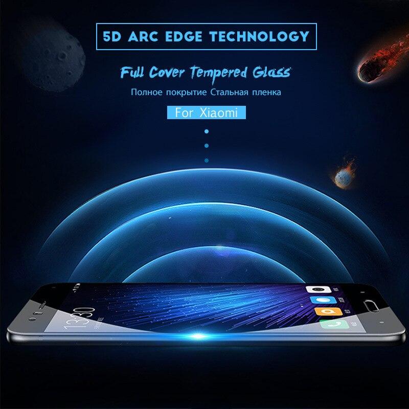 Full Cover Tempered Glass For Xiaomi Redmi 7 7A 6 6A K20 Pro 5 Plus Redmi Note 5 5A 6 7 pro Protective Screen Protector Film