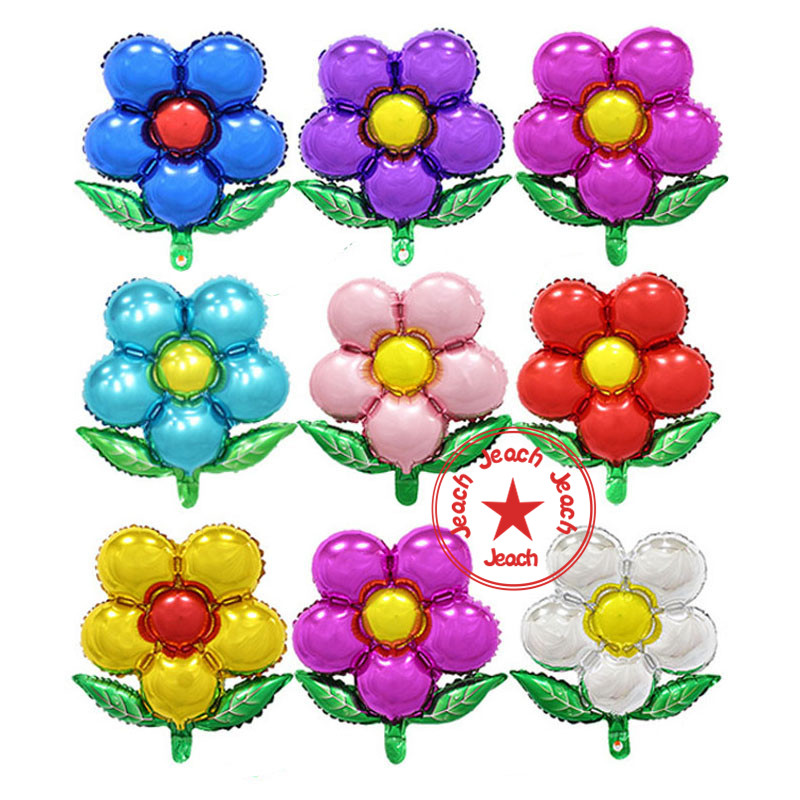 wedding decoration balloon flower shaped balloons baby kids birthday party supplies helium foil