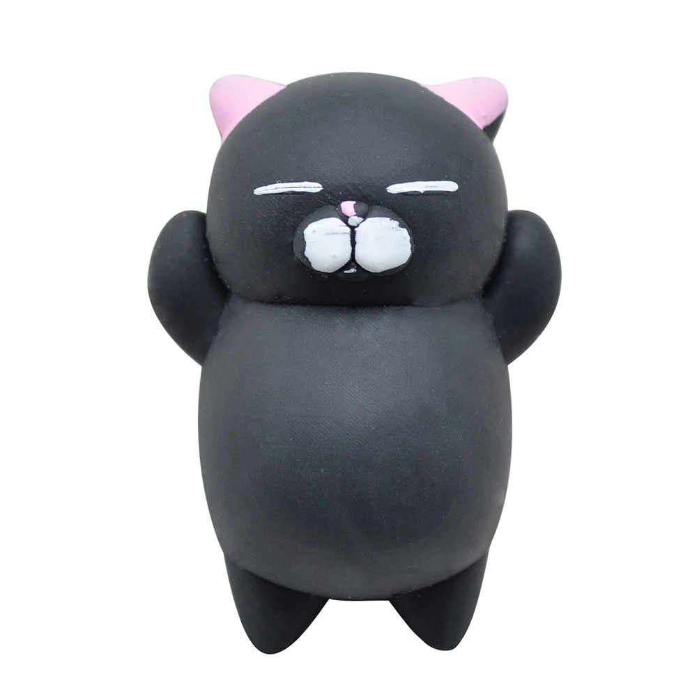 kids Relief Stress Toys Cute Mochi Cat Squeeze Healing Fun Kids Kawaii Toy Stress Reliever Decor poopsie slime surprise unicorn