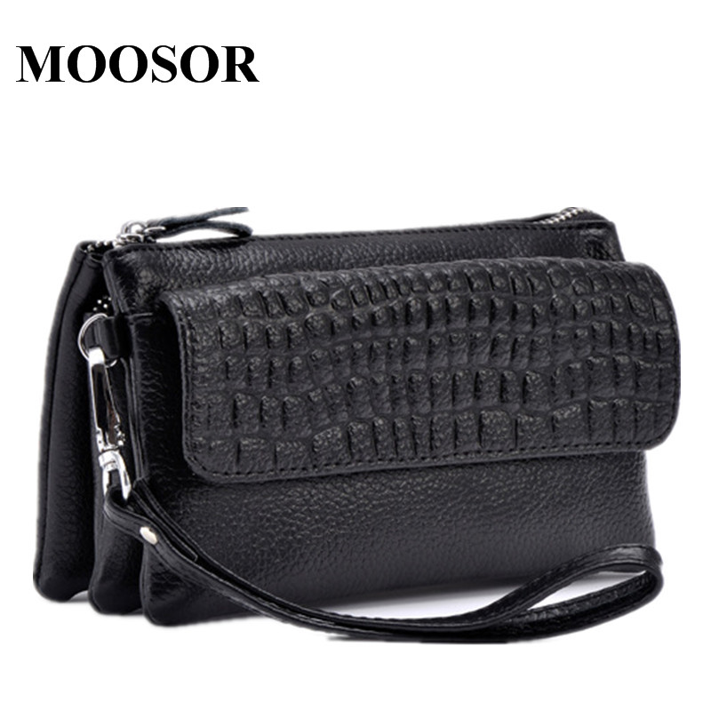 New Arrival Women Crossbody Bags Day Clutch 100% Genuine Leather Multifunctional Women Shoulder Bags Coin Purse Evening Bag DC02 genuine leather women wristlet bag 2017 new fashion evening clutch purse shoulder chain crossbody handbags free shipping 5002