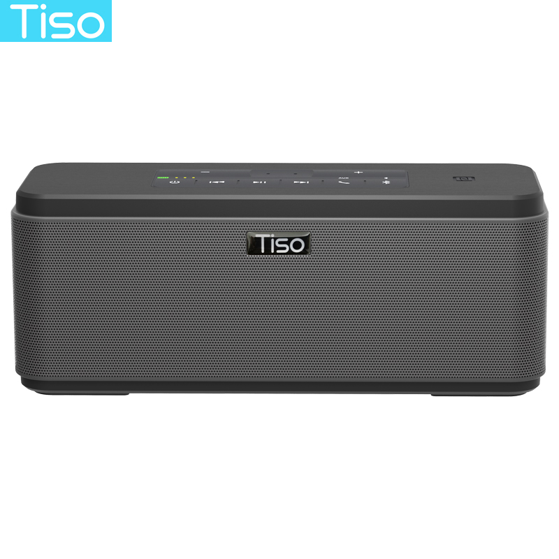 Tiso 2 2 channels 30W loudspeakers wireless Bluetooth speakers 3D stereo super bass NFC AUX power