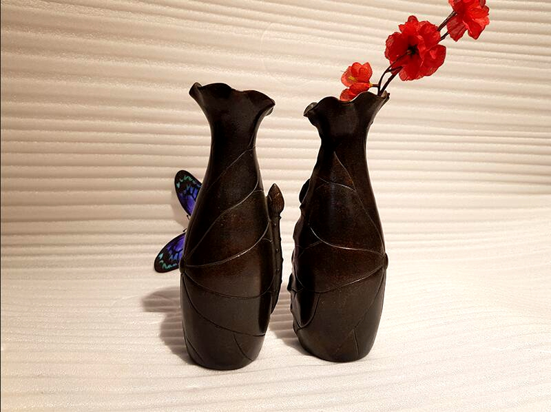 Bronze home decoration vase (7)