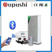 OUPUSHI YY 20W мини Активная Bluetooth звуковая колонка для эксплуатации вне помещений Встроенный усилитель продается в паре (1 Bluetooth + 1 нормальный)