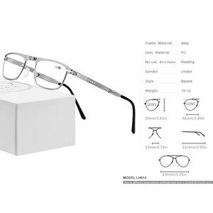 Image 4 - FONEX Hohe Qualität Folding Lesebrille Männer Frauen Faltbare Presbyopie Leser Hyperopie Dioptrien Brillen Schraubenlose LH012