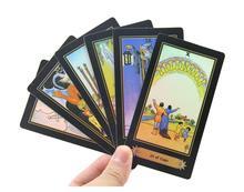 цена Tarot Board Game 78 PCSSet Shine Waite Tarot Cards Game ChineseEnglish Edition Tarot Board Game For FamilyFriends онлайн в 2017 году