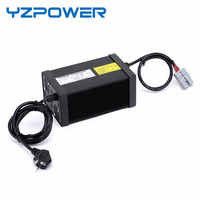 YZPOWER CE Rohs 16S 67.2V 7A 7.5A 8A 8.5A 9A 9.5A 10A Lithium Li ion Lipo Battery Charger for 60V Battery