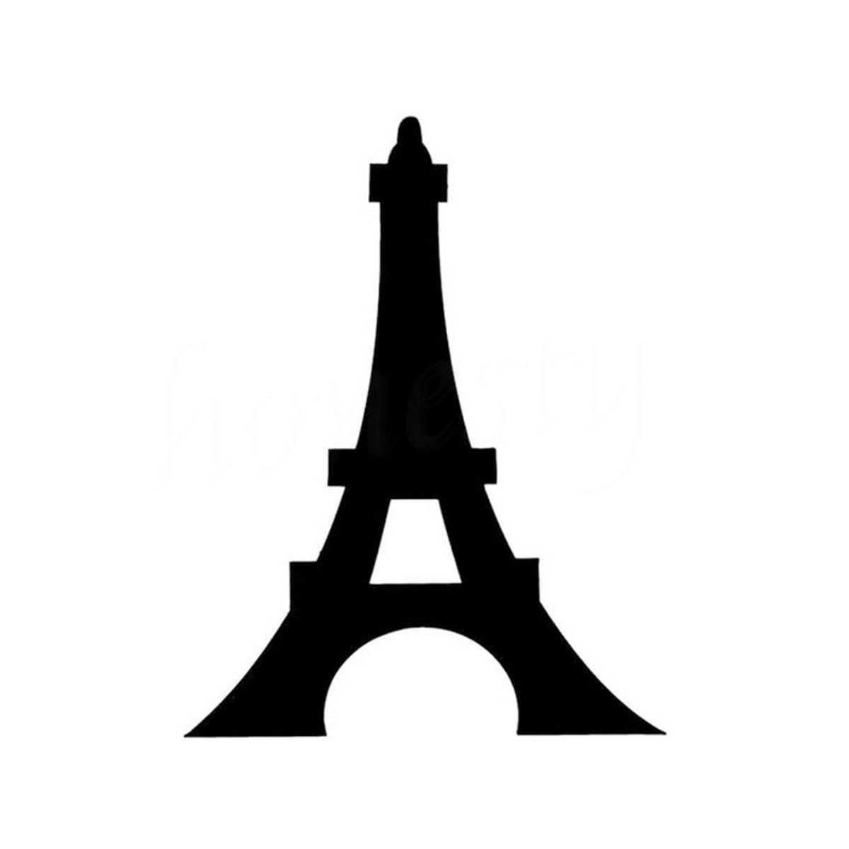 Eiffel Tower Romantic Paris France Graphic Car Sticker