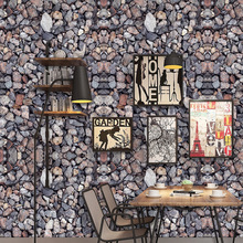 Self-adhesive 3D three-dimensional rock wall sticker PVC Home living room bedroom TV backdrop wallpaper wall waterproof sticker thickened wallpaper self adhesive non woven backdrop retro sticker full floor 3d 3d wall stickers waterproof bedroom wallpaper24