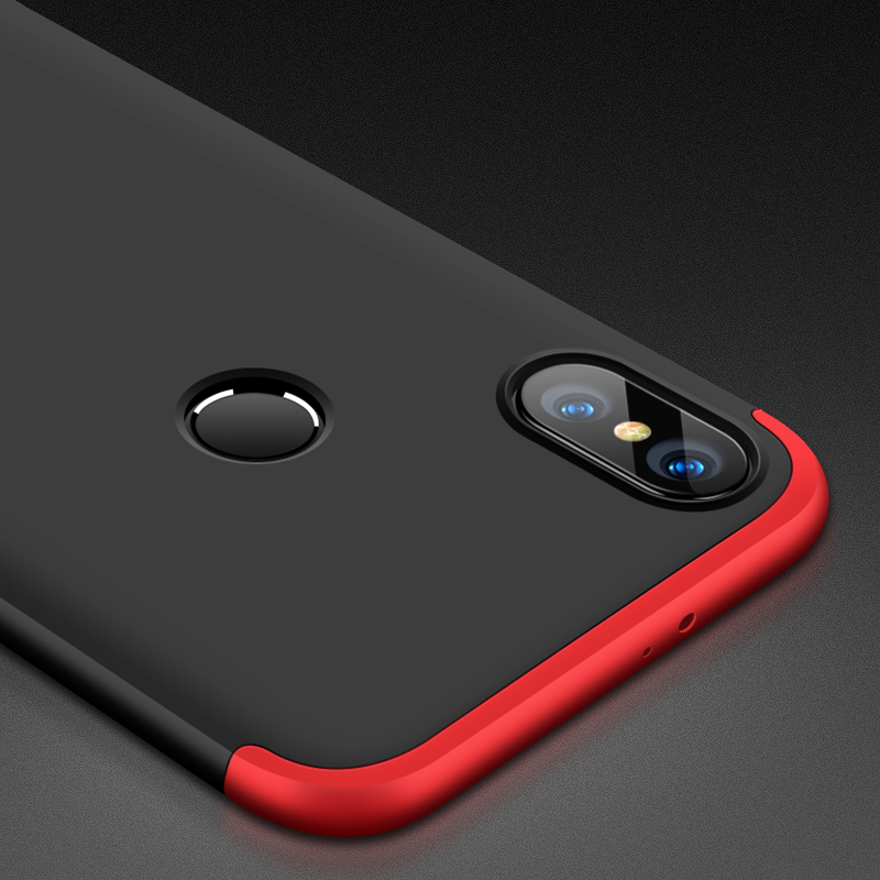 buy online 8cdd1 06da2 US $3.71 10% OFF|GKK Case for Xiaomi Redmi Note 5 Plus Mi 8 Lite 9 SE Note  7 Pro Case 360 Full Protection Redmi 4X 6 Pro S2 Y2 Pocophone F1 Cover-in  ...