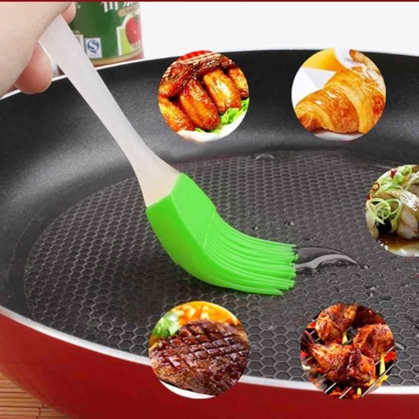 NEW Silicone Baking Baking Tray Bread Chef Pastry Oil Butter Barbecue Tool Brush Silicone Brush Barbecue Brush #0544