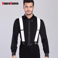 2017 New Male Ballroom Dance Tops For 165 180 Men Dance Shirt Latin Dance Top Dancewear DQ5014