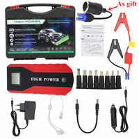 New Emergency 89800mAh Jump Starter 12V 600A Portable Starting Device Power Bank Car Charger For Car Battery Booster Buster