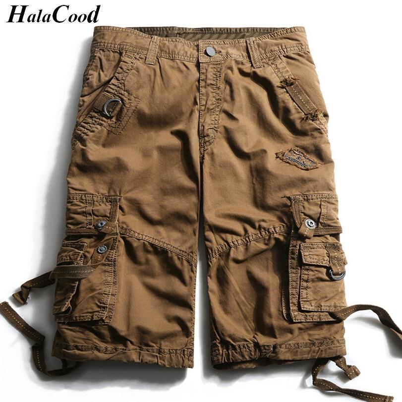 HALACOOD Mode Sexy Qualität Neue Sommer Wadenlangen Cargo Herren - Herrenbekleidung - Foto 1