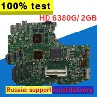 N53TA Motherboard REV:2.0 2GB For ASUS N53TA N53TK N53T Laptop motherboard N53TA Mainboard N53TA Motherboard test 100% OK